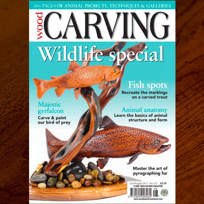 Carving Magazine Cover Feature - Milo Creek Carvings
