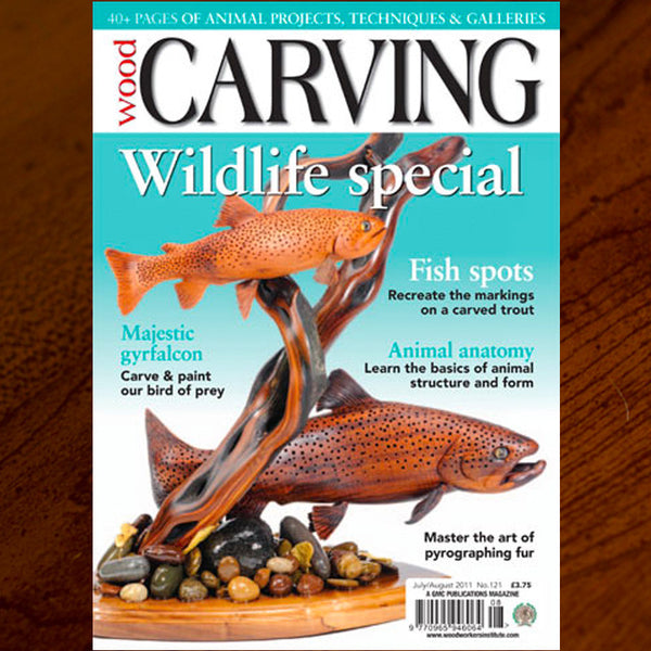 Carving Magazine Cover Feature
