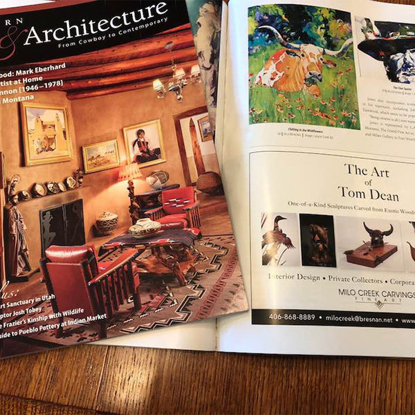 "Western Art and Architecture ""The Artwork of Tom Dean"""