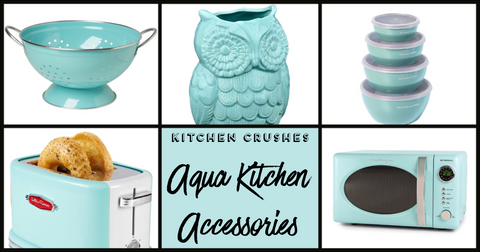 aqua kitchen accessries