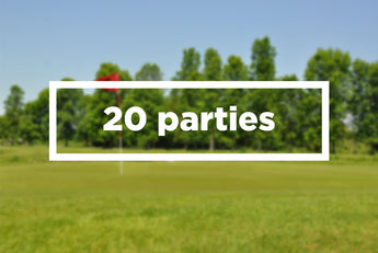 20 parties de golf / 20 games booklet
