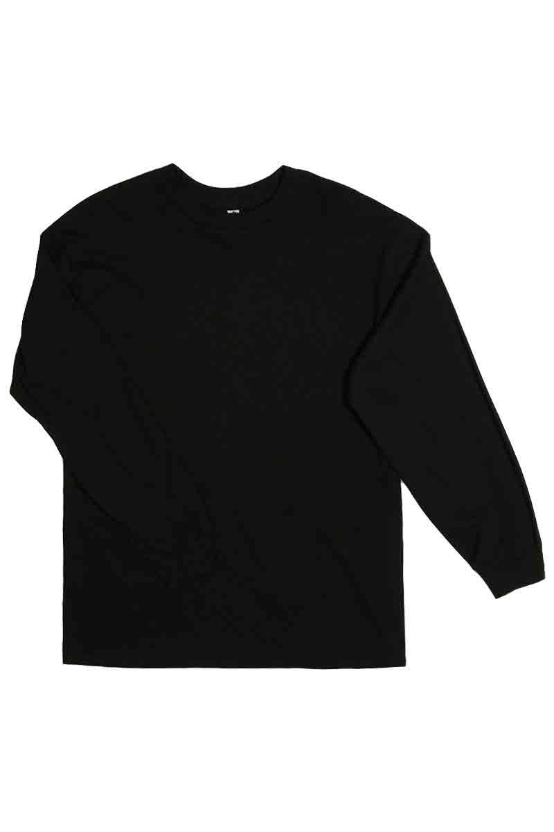 BASIC PLAIN LONG SLEEVE T-SHIRT
