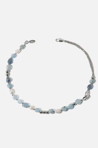 Freshwater Pearl Natural Stone Necklace