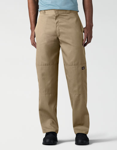 DICKIES Loose Fit Double Knee Work Pants 85283-KHAKI 85283-KHAKI - KMOMO