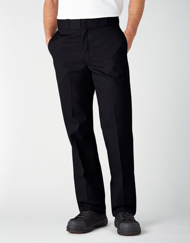 DICKIES MEN STRAIGHT FIT Original Work Pants 874-BLACK 874-BLACK - KMOMO
