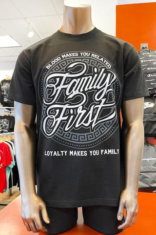898 Family First Graphic T-Shirts