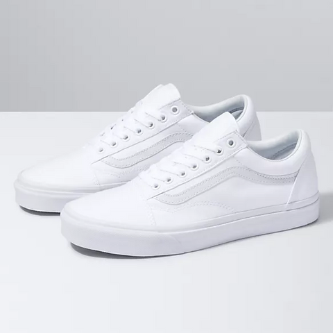 Vans Old Skool Shoes True White-VN000D3HW00