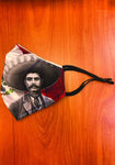 DGA Zapata Villa Graphic Print Fashion Face Mask
