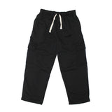 Men's Basic Heavywieight Fleece Cargo Pants-Black, Charcoal,Grey, Navy, Red