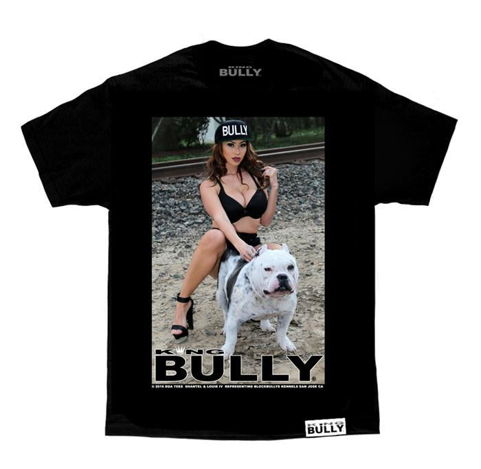 KING BULLY LOUIE IV T-Shirt - BLACK