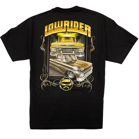 Lowrider Roquita Gold Graphic T-Shirt