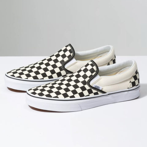 Vans Men's CHECKERBOARD SLIP-ON Skate Shoe-VN000EYEBWW