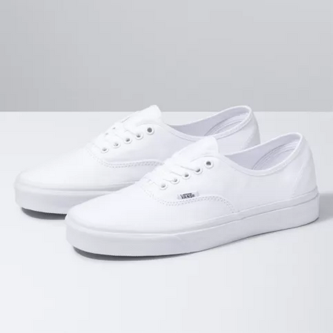 Vans Authentic Shoes True White-VN000EE3W00