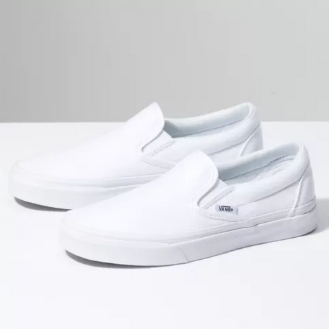 Vans Slip-on Shoes True White