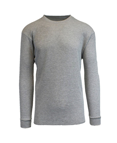 Men's Basic Long sleeve Thermal T-shirt-Black/ Blue/ Grey/ Olive/ Red/ White