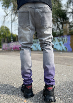 Purple Fade Denim