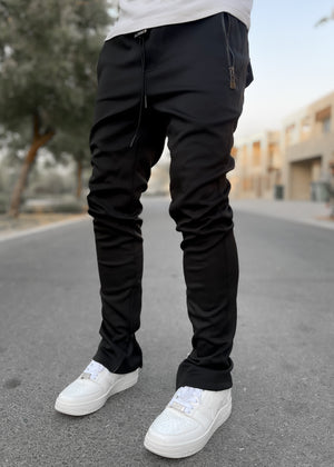 Obsidian Black Essence Track Pants