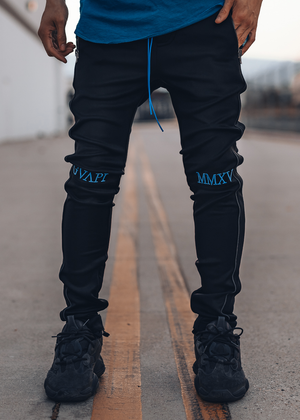 Electric Blue Track Pants