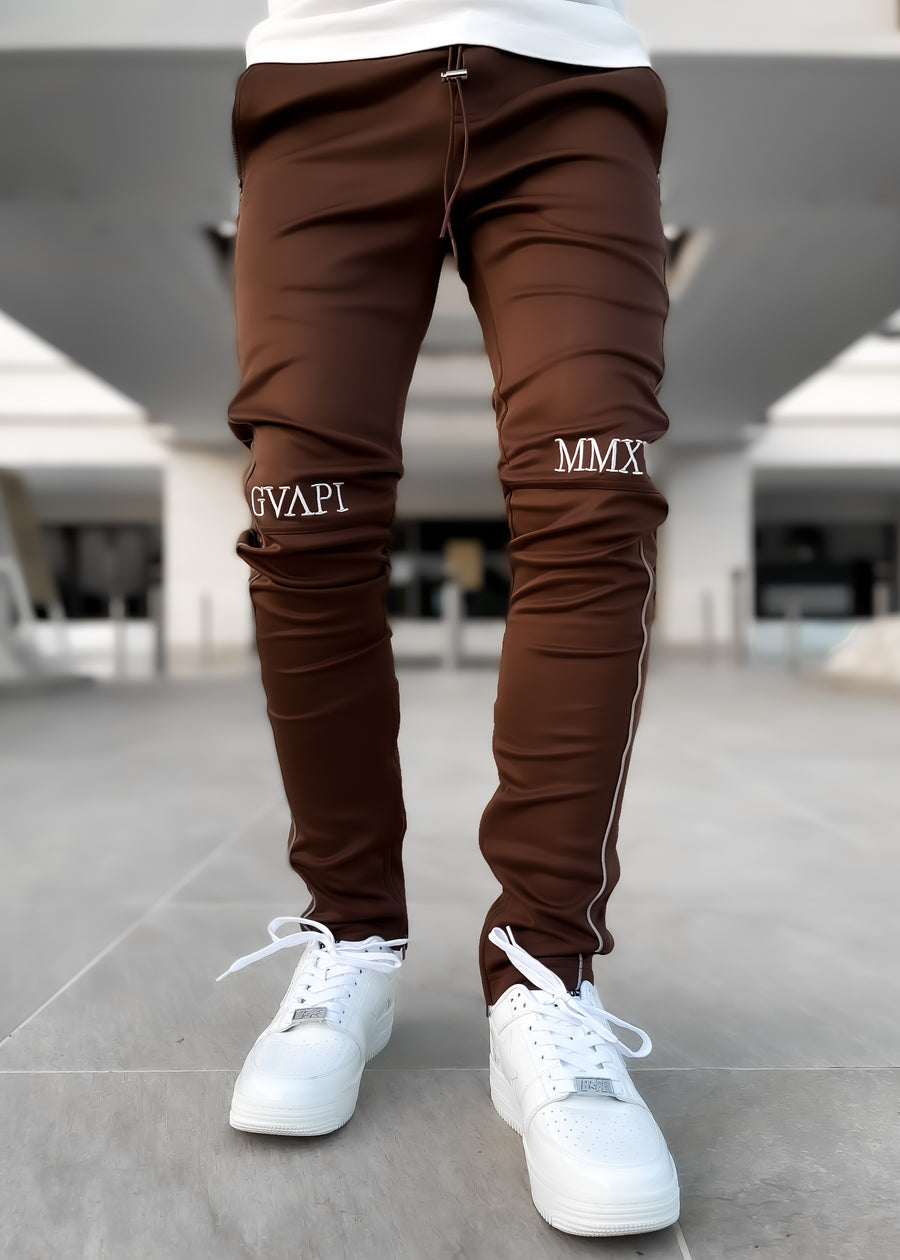 Oak Brown Track Pants