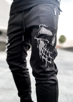 Demon Faces Track Pants
