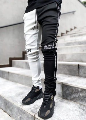 Ghost White Fusion Track Pants V2
