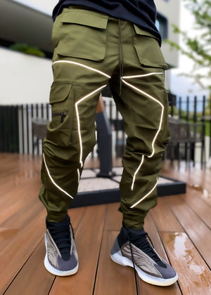 Hunter Green Cargo Pant