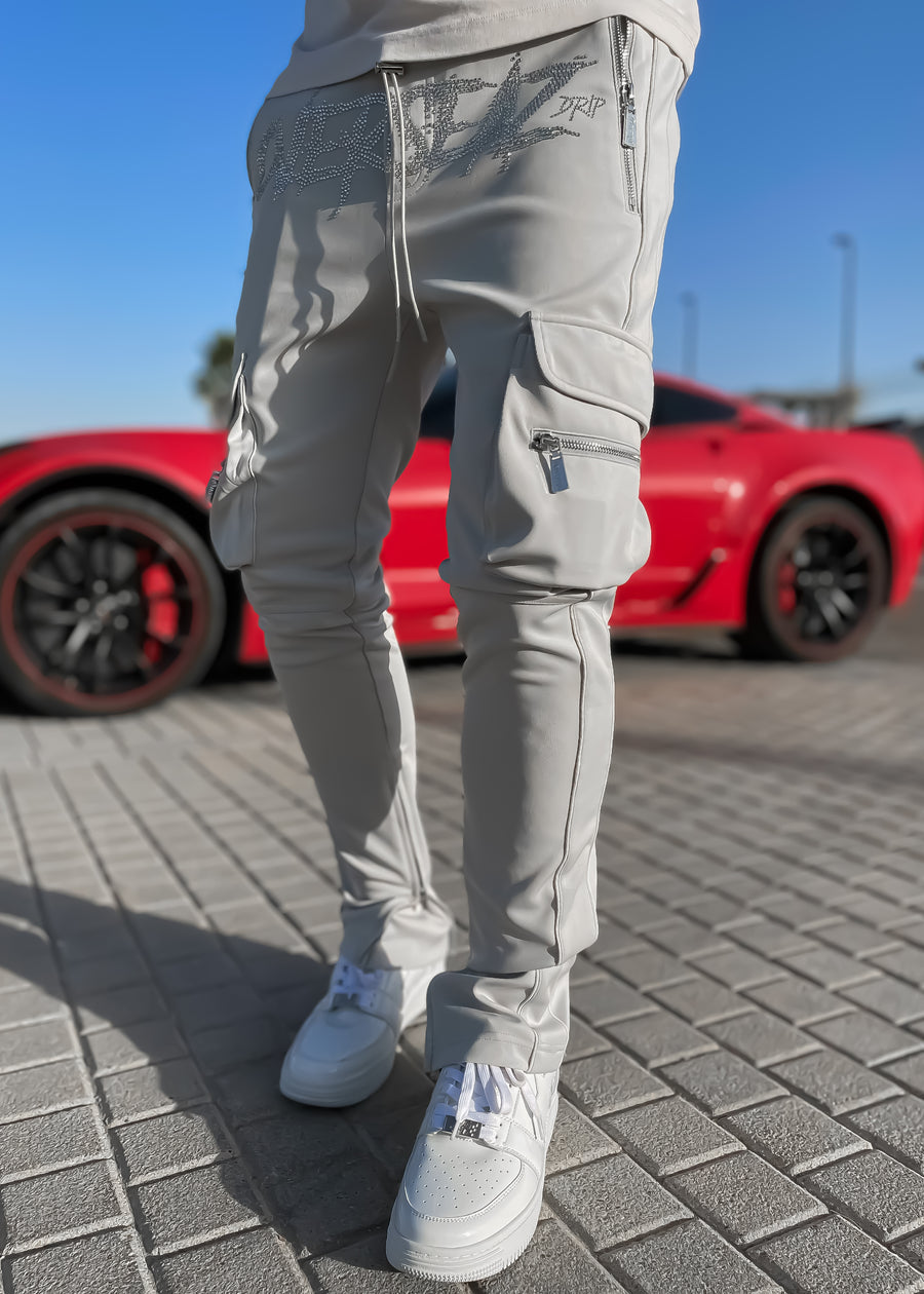 Cloud Grey Overseaz Track Pants
