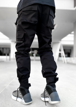 Metallic Chrome Cargo Pant