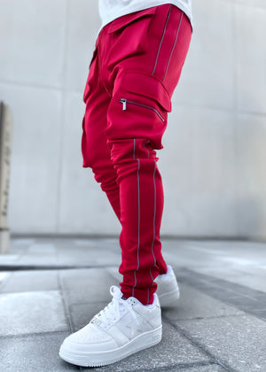 Red Inferno Tactical Track Pants