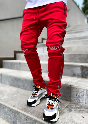 Red Inferno Track Pants