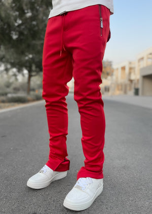 Blood Red Essence Track Pants