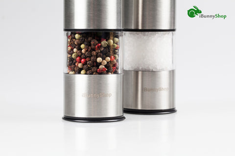 Electric Pepper Grinder or Salt Grinder Mill - iBunnyShop
