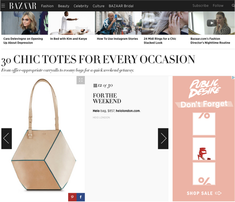Heio on harpersbazaar.com