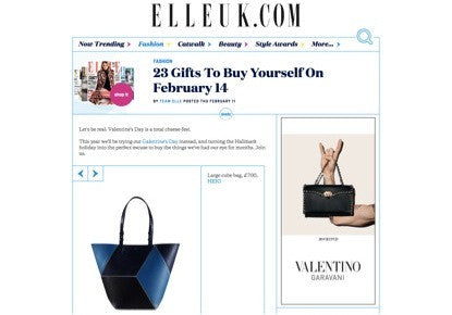 Heio on Elle UK Valentine's Day
