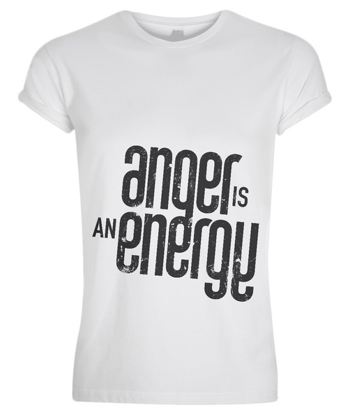 Anger is an Energy tee shirt