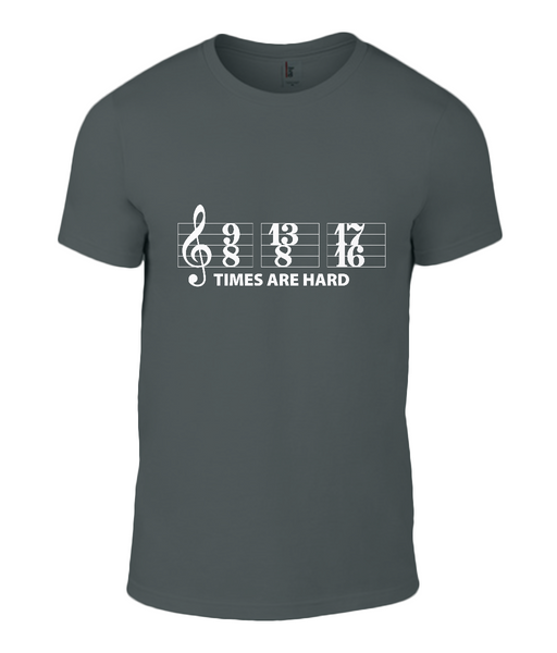 Time signatures Muso tee shirt