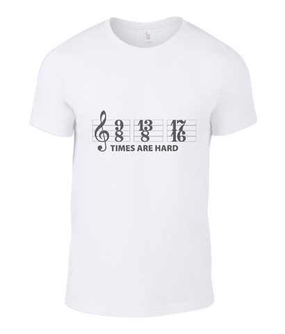 Muso time signatures tee shirt