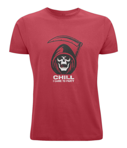 grim reaper party tee shirt