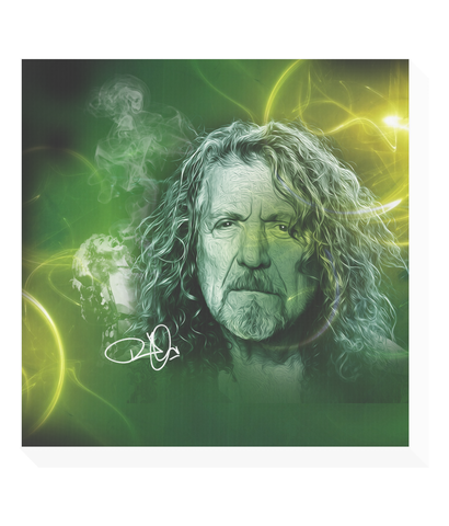 robert plant led zeppelin original canvas print