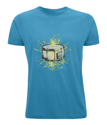 snare drum graphic tee shirt