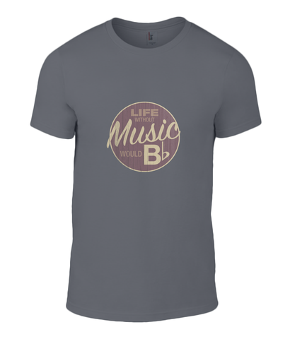 life without music musician t-shirt