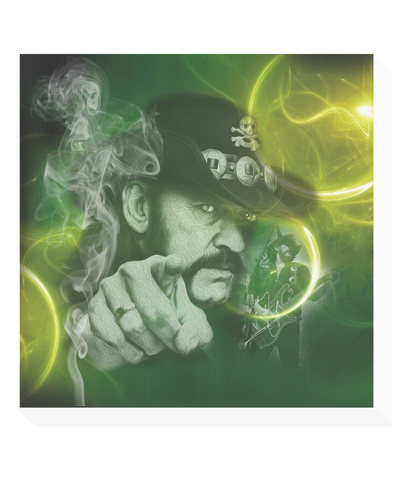 lemmy moorhead original illustration canvas print
