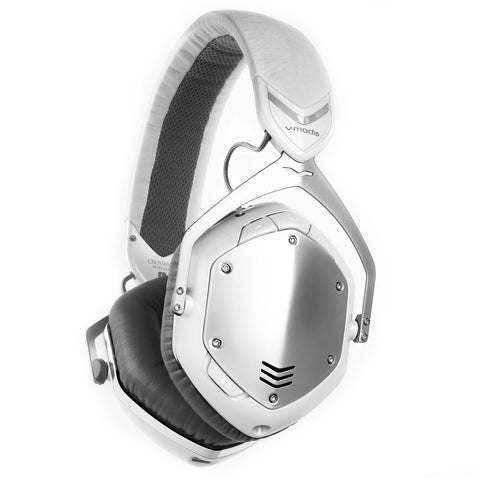 V-MODA White Silver Crossfade Wireless Headphones