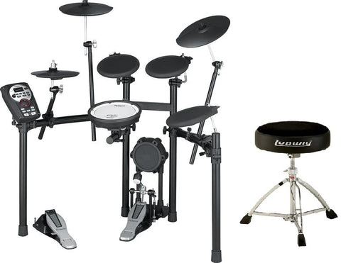 *BUNDLE* Roland TD 11K SuperNATURAL Compact Drum Set DEMO with FREE Ludwig Throne