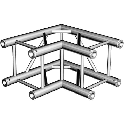 ProX XT-SQ164-2W90 Square Truss Corner Block 2 Way 90 Degree