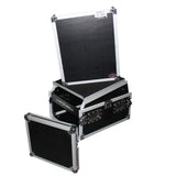 ProX T-6MRSS13ULT - 6U Rack x 13U Top Mixer DJ Combo Flight Case w Laptop Shelf