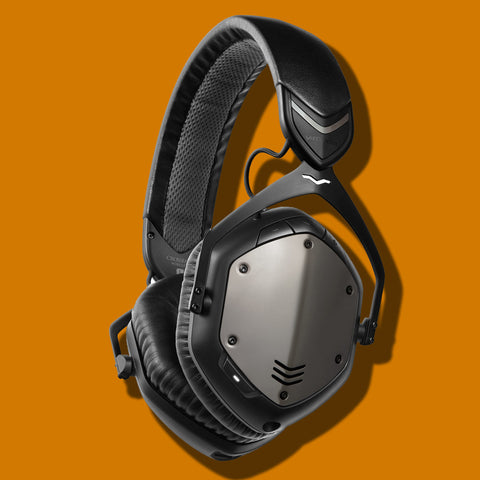 V-MODA Crossfade Wireless BlueTooth Headphones Gunmetal