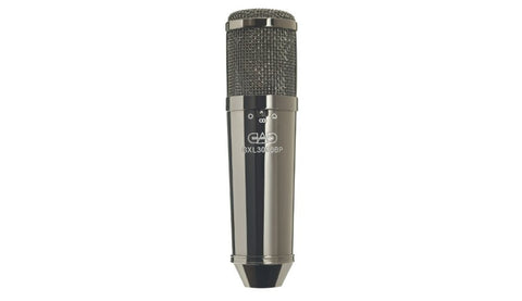 CAD GXL3000BP Black Pearl Chrome Finish Multi-Pattern Condenser Microphone