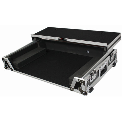 ProX XS-DDJSZ WLT Pioneer Digital Controller Flight Case w Laptop Shelf and Wheel