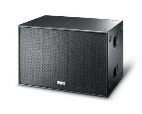 "FBT SUBLINE 218 SA 1200W RMS 2x18"" Processed Cardioid-Flyable Active Subwoofer 140dB SPL Processed"
